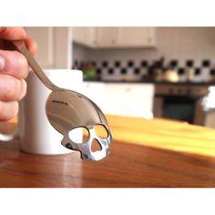 Sugar Spoon - Skull