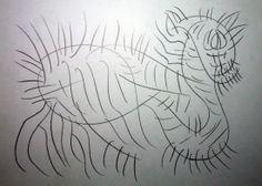 """Bestia malefica"" 2012 Matita su carta 21x29,5 ©Pietro Gargano"