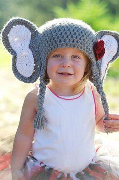 125858a87f8 Elephant Hat -- just for idea. Rachael Wood · Scarlett stuff