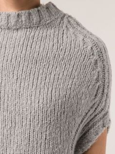 Rick Owens dropped shoulder sweater