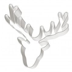 Antlers Cookie Cutter by Birkmann, Germany.