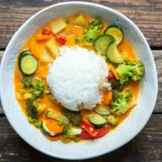 Asian Recipes, Healthy Recipes, Ethnic Recipes, Tofu Thai Curry, Red Thai, Food Inspiration, Clean Eating, Food Porn, Food And Drink