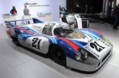NEW YORK  1970 Porsche 917/LH makes rare trip from Porsche Museum to New York