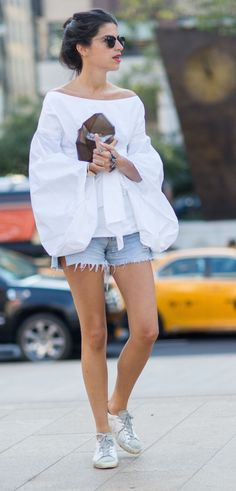 NYFW Spring 2015 Street Style, Leandra Medine For more fashion and beauty visit our website: http://www.breakfastwithaudrey.com.au
