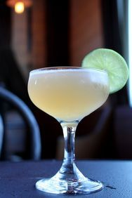 Daiquiri INGREDIENTS 1½ oz light rum ¾ oz lime juice ¼ oz simple syrup  INSTRUCTIONS Shake over ice, strain into a chilled cocktail glass, and garnish with a lime wheel.