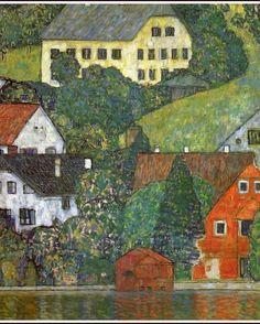 Fabulous Gustav Klimt Landscape Print from by ArtdeLimaginaire, $12.00