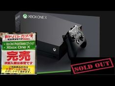 XBOX ONE X Sold Out In Japan - The Most Powerful Console In A Demand #xboxone #games #gaming