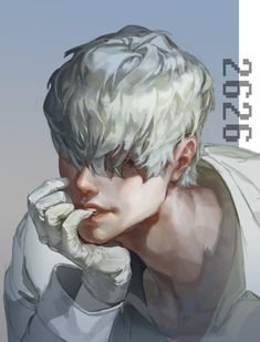 _ Cells at work _ White blood cell Handsome Anime Guys, Cute Anime Guys, I Love Anime, Manga, White Blood Cells, Fanarts Anime, Anime People, Boy Art, Character Design Inspiration
