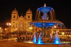 main square in Cuzco, Peru- I spent much time here buying finger puppets from kids