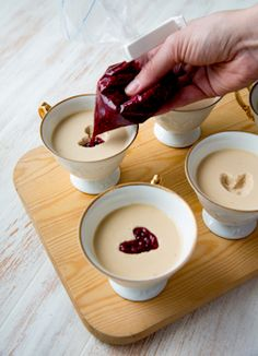 Dessert Recipes, Desserts, Panna Cotta, Food And Drink, Pudding, Ice Cream, Sweets, Baking, Eat