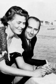 In the late '40s, Bergman sent the Italian director a letter suggesting they work together that was equal parts clever and flirty. She was cast in his film Stromboli (1950), and they began an affair soon after—despite each being married to other people. It shattered her wholesome image, outraged many of her American fans, and led to her being denounced on the floor of the United States Senate. They were married for seven years.   - MarieClaire.com
