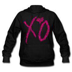 Pink X♡O Cheetah hoodie