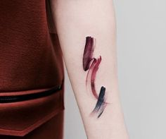 (99+) brush stroke tattoo | Tumblr More