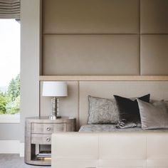Designs by Sundown is a 2020 Gold List honoree featured in Luxe Interiors + Design. See more of this design professional's projects. Master Bedroom Interior, Modern Bedroom, Dream Bedroom, Contemporary Interior, Modern Interior Design, Luxury Homes Interior, Beautiful Bedrooms, Home Decor, Pacific Northwest