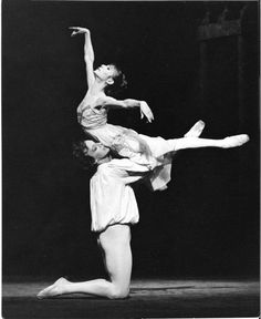 Gelsey Kirkland and Anthony Dowell in the Royal Ballet's Romeo and Juliet (1986)