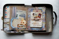 A SUITCASE - MINI ALBUM ©MI♥SCRAP♥LAB