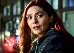 NEW (HD) photo of Scarlet Witch from Avengers: Infinity war
