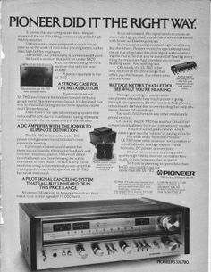 Pioneer ad