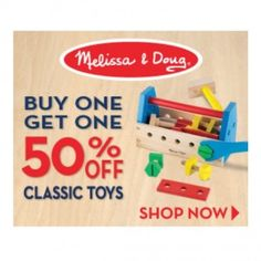 Last day classic toys Sale Buy one get one 50%  USA only