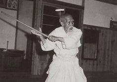 aikido Morihei Ueshiba sensei (O Sensei), Founder of Aikido