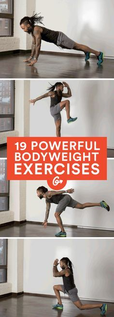 Improve your power and agility and add intensity to any workout with these moves. #plyometric #bodyweight #workout http://greatist.com/fitness/explosive-bodyweight-exercises