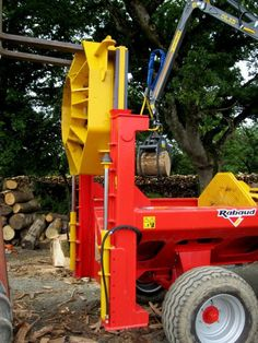 Horizontal log splitter - HORIZONTAL F80 - RABAUD