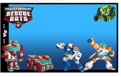 rescue bots party | Transformers Rescue Bots Free Printable Invitation, Photo Frame or ...