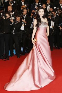 Fan Bingbing in her ususal Louis Vuitton at The Great Gatsby Premiere at the 2013 Cannes Film Festival