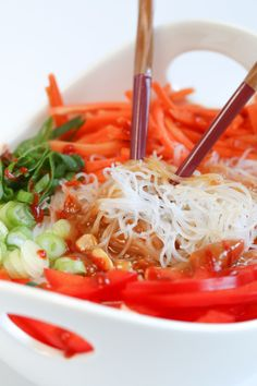 Asian Noodle Bowl Wi