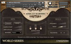 African Marimba & Udu KONTAKT FANTASTiC | 20 October 2016 | 146 MB The African Marimba and Udu is a collection of sampled African instruments recorded