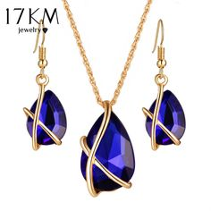 Price $4.34 17KM Multicolor Water Drop Crystal Jewelry Sets For Women Party Wedding Statement Jewelry Pendent Necklace Chandelier Earrings     Tag a friend who would love this!       Buy one here---> https://www.fashiondare.com/17km-multicolor-water-drop-crystal-jewelry-sets-for-women-party-wedding-statement-jewelry-pendent-necklace-chandelier-earrings/