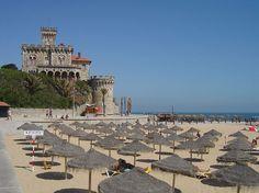 Plus belles plages de Lisbonne - Plage du Tamariz - Estoril