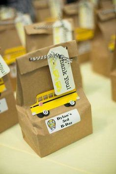 School Bus Birthday Party Ideas   Photo 1 of 15   Catch My Party