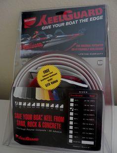 Megaware 6' Keelguard White Kit 17'-18' Boat ScuffBuster BowGuard New #Megaware