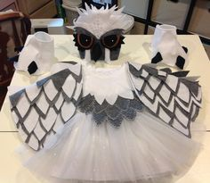 Complete Snow owl costume Stand out costume for by MyLittleMargies