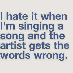funny pictures and quotes: singing a song