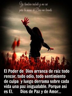 Dios de paz y amor.