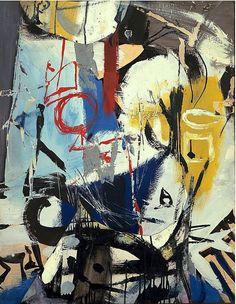 Untitled (1948) by Franz Kline