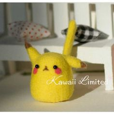 DIY Needle Felting Kit - Pokemon Pikachu