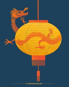 Risultati immagini per tang yau hoong storytelling Tang Yau Hoong, Dragon China, Enter The Dragon, Creative Thinking, Creative Industries, Design Projects, Illusions, Illustrators, Digital Art