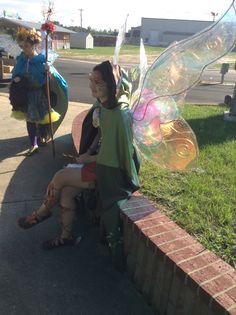 Magnolia Fawn the fairy at the TARF 2013