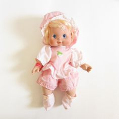 Baby Needs-A-Name Blow Kiss Strawberry Shortcake Doll