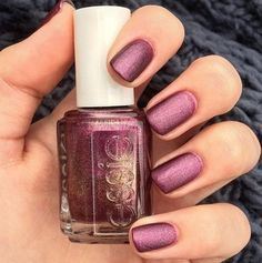 Essie 'its genius' manicure topped with 'matte about you' top coat. Nail Polish Art, Essie Nail Polish, Nail Polish Colors, Nail Art, Great Nails, Love Nails, How To Do Nails, Nails Opi, My Nails