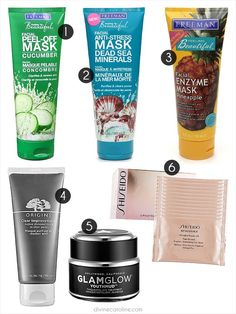 Facial Masks for Beautiful Skin Treat yourself, girlfriend! Rejuvenate your skin with these incredible, affordable facial masks.Treat yourself, girlfriend! Rejuvenate your skin with these incredible, affordable facial masks. Face Skin, Face And Body, Beauty Secrets, Beauty Hacks, Beauty Advice, Beauty Products, Face Products, Makeup Products, Skin Makeup