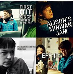 Allison- Orphan Black Allison started out annoying but turned into one of my favorite clones!