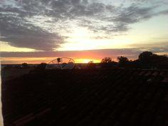 O amanhecer desta quinta-feira em São João do Piaui.