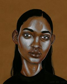 Ojo Agi Illustrations, Black Women Art