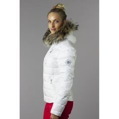 Bogner Kaley D | Womens Ski Jacket in Off White