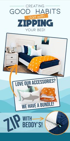 "Start your morning off right! With Beddy's we make it easy! All you do is zip! Use code ""PINTEREST"" for a discount! #beddys #beddysbeds #zipperbedding #zipyourbed #bunkbeds Kids Bedroom, Bedroom Ideas, Bedroom Decor, Kid Beds, Bunk Beds, Beddys Bedding, Zipper Bedding, Shared Bedrooms, Make Your Bed"