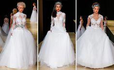 Vestidos de noiva - Desfile do Geraldo Couto no Casamoda 2016, em São Paulo - Créditos: Márcia Fasoli